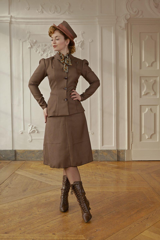 40er-Jahre Kostüm Amalia
